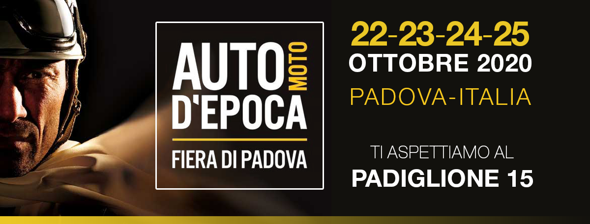 Salone dell'Auto e Moto d'Epoca di Padova 2020